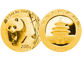 Chinese gold coin – Panda